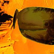 Reflection Blend 03 Art Print