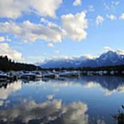 Reflection Lake Art Print by Mike Podhorzer