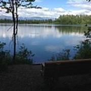 Reflection Lake Trail Art Print