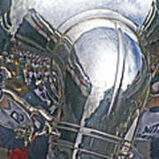 Reflection Of The Marching Band Art Print