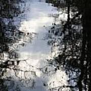 Reflection On Sweet Water Strand Art Print