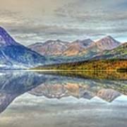 Reflections Along The Seward Highway - Alaska Art Print