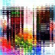 Reflections In Technicolor Art Print