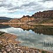 Reflections In The Blue Mesa Art Print