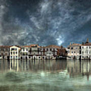 Reflections In Venice Art Print