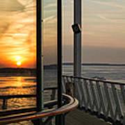 Reflections Of A Chesapeake Sunset Art Print