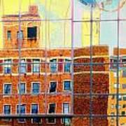 Reflections Of A City Art Print