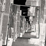 Reflections Of An Infrared Alley Art Print
