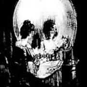 Reflections Of Death After Gilbert Art Print