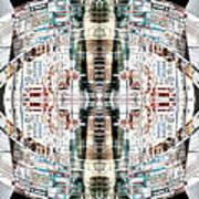 Reflections Of Gateshead 2 Art Print