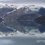 Reflections Of Glacier Bay Alaska II Art Print