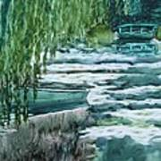 Reflections Of Monet's Pond Art Print