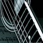 Reflections Of Music  Art Print