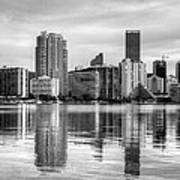 Reflections On Miami Art Print