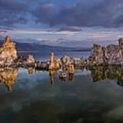 Reflections On Mono Lake 1 Art Print
