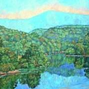 Reflections On The James River Art Print