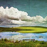 Reflections On Watership Down Art Print