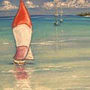 Reflections Art Print by The Beach  Dreamer