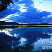 Reflective Blues On Lake Umbagog  Art Print