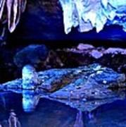 Reflective Cavern Art Print