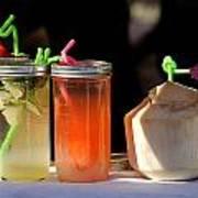 Refreshing Drinks Art Print