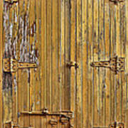 Refrigerated Boxcar Door Art Print