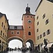 Regensburg Germany      Art Print