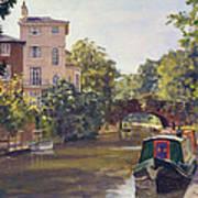 Regent S Park Canal Art Print