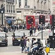 Regent Street London Art Print