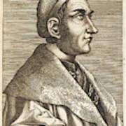 Regino Von Prum Also Known As Reginon Art Print