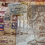 Regular Mail By Air Art Print