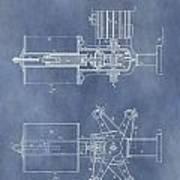 Regulator For Dynamo Electric Machine Patent Art Print