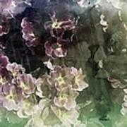 Relaxing Flowers Art Print