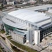 Reliant Stadium In Houston Art Print
