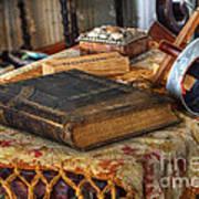 Relics Of A Lighthouse Keeper Art Print
