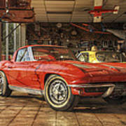 Relics Of History - Corvette - Elvis - Nehi Art Print