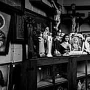 Religion And The Curio Shop Art Print