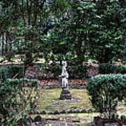 Religion In The Garden Art Print