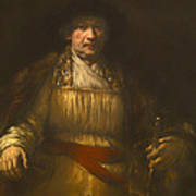 Rembrandt Self Portrait Art Print