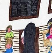 Remember When Teachers Were Nuns  Art Print