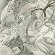 Remnants Of An African Plain Art Print