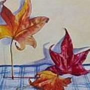 Remnants Of Autumn Art Print