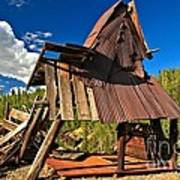 Remnants Of The Colorado Gold Rush Art Print