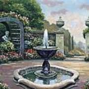 Renaissance Garden Art Print