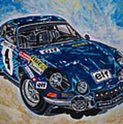 Renault Alpine Art Print
