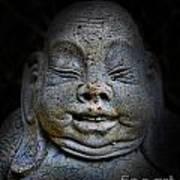 Qieci The Fat Budai - Fat Buddha Art Print