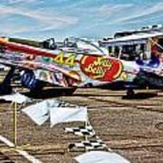 Reno Races 6 Art Print