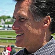 Republican Mitt Romney Art Print