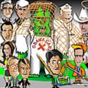 Republicans Net Frankenstein Monster Art Print by Dan Youra