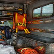 Rescue - Emergency Squad  Art Print